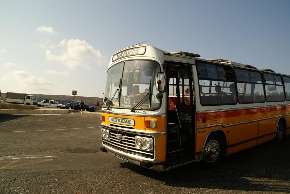maltesischer Bus