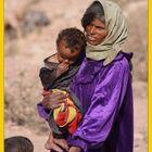 Mama Beduina con sus hijos