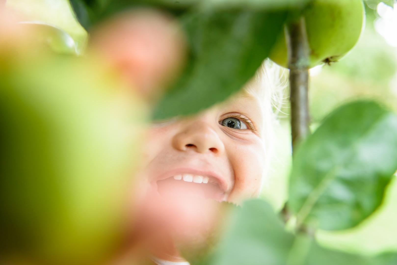 Mama, ein Apfel