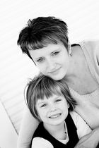Mama und Tochter