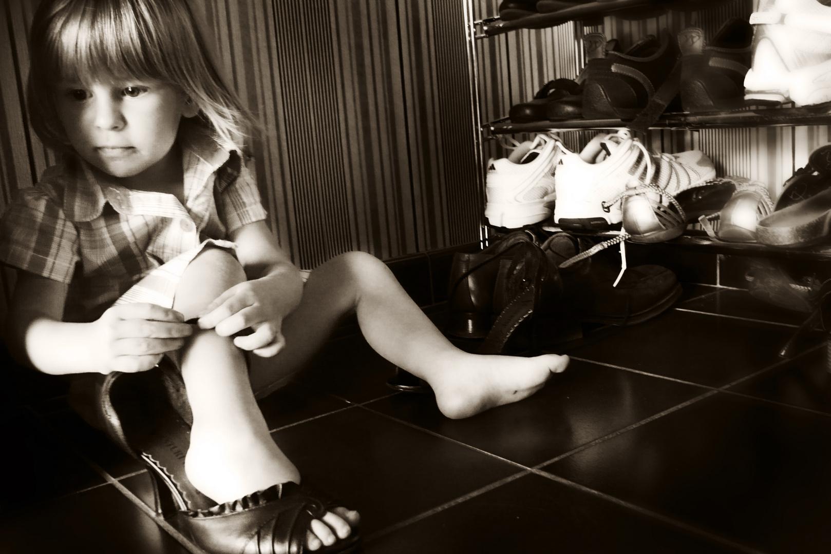 Mamas Schuhe