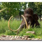 Mammut Nachbildung - Schloss Salder