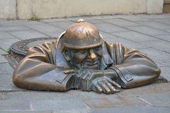 Man at work / Bratislava