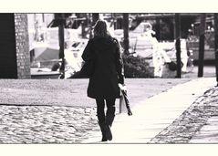 Man geht doch immer alleine…