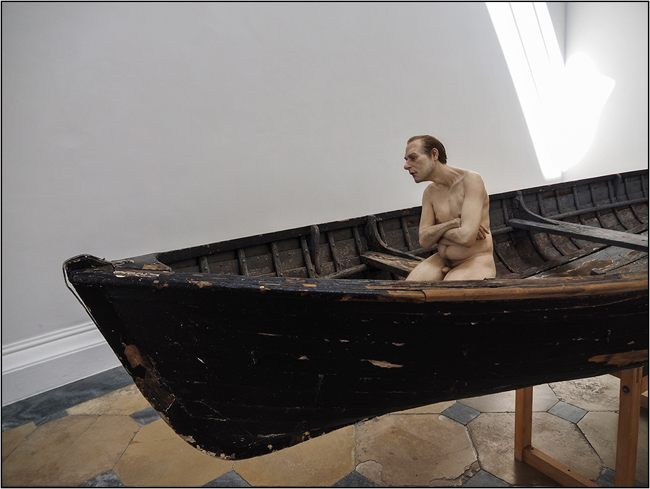 Man in a boat (Detail)