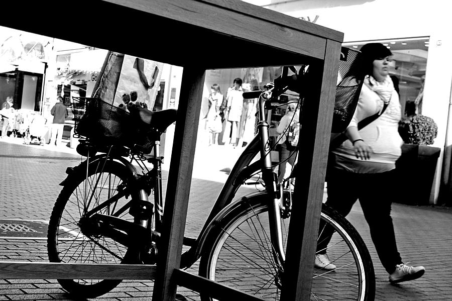 Man muss sein Fahrrad auch mal stehen lassen können