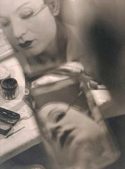 Man Ray - Barbette make up 1926