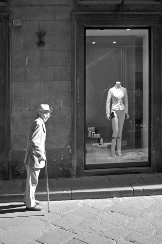 Man With Cane