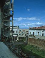Managua 1984. Zerstört und verfallen