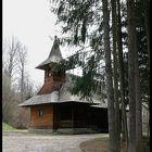 MANASTIREA SIHASTRIA - ROMANIA (BISERICA DE LEMN)