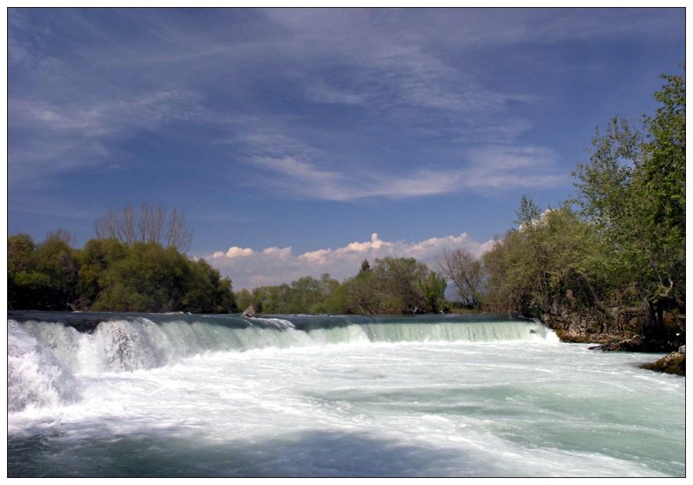 Manavgat-Wasserfälle