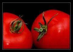 Manchmal habe ich Tomaten vor den Augen