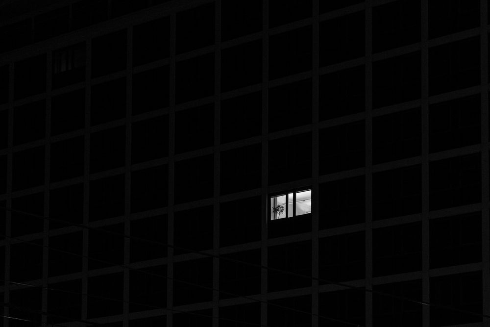 manchmal ist man allein