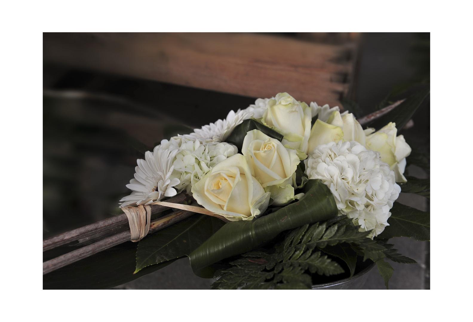 Manchmal schenkt uns das Leben Rosen....