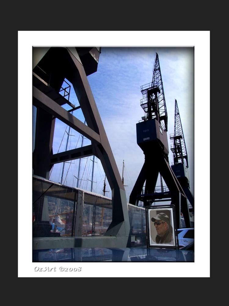 """ Mancina da porto "" - Archeologia industriale"
