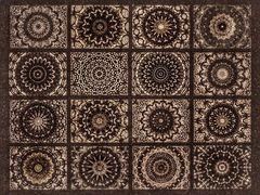 Mandala Kaleidoskop-Art Retro