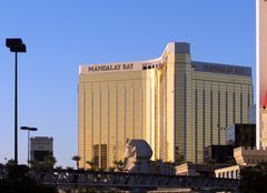 Mandalay Bay nach dem Attentat