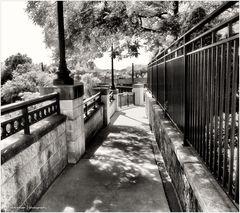 Mandarin Oriental Walkway - from 'Scenes of Washington Summer'