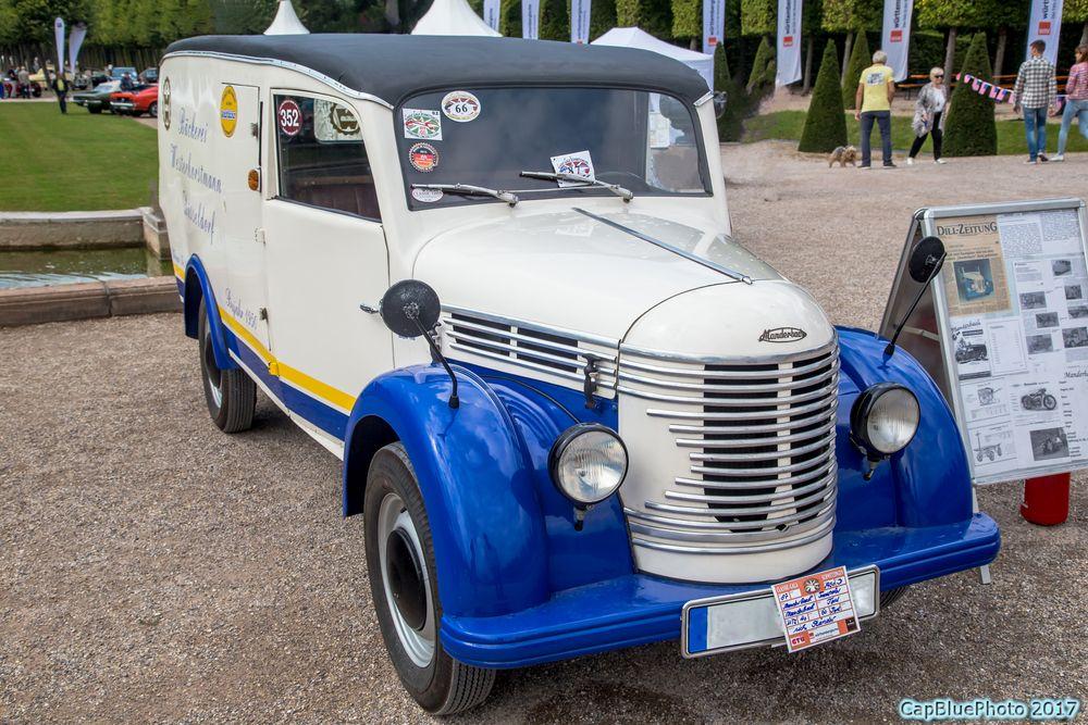 Manderbach Kastenwagen D 1950 bei Classic Cars Schwetzingen 2017