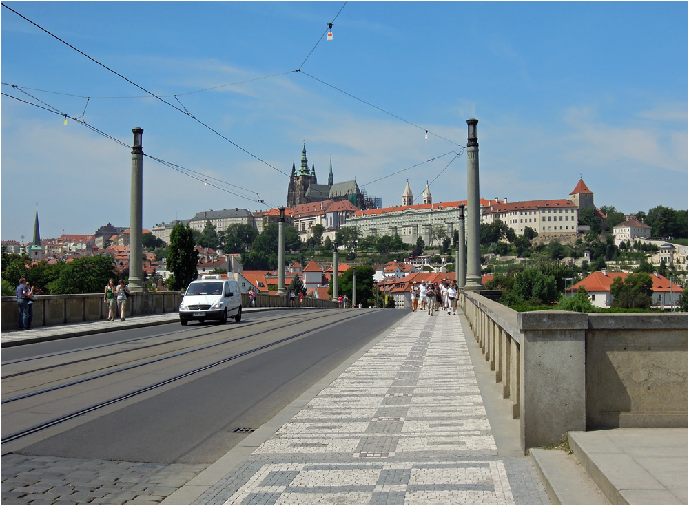 Manes-Brücke in Prag