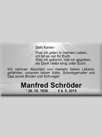 Manfred Schröder