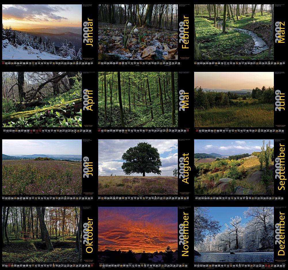 manfred s fotokalender 2009 12 monate foto bild karten und kalender fotokalender. Black Bedroom Furniture Sets. Home Design Ideas