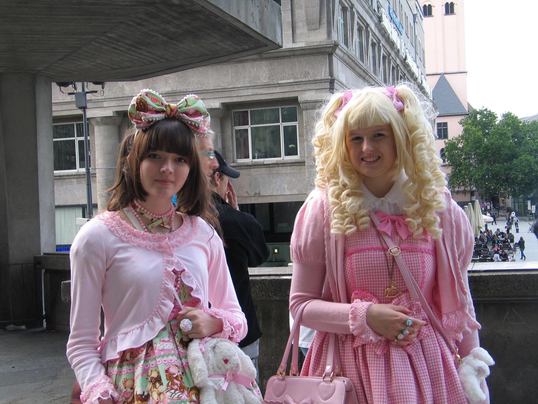 Manga Girls - Christopher Street Day in Cologne