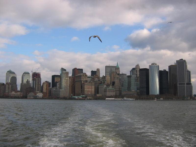Manhattan adieu!