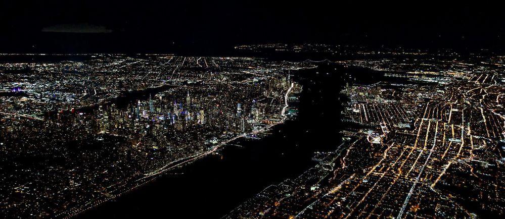 Manhattan at Night 1