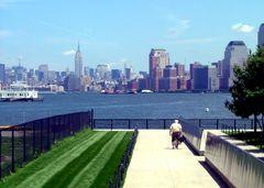 Manhattan aus Sicht Ellis Island