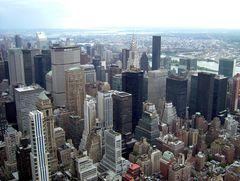 Manhattan aus Sicht Empire State Building