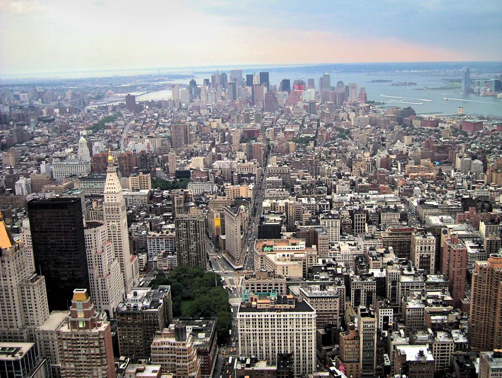 Manhattan - Blick vom Empire State Building