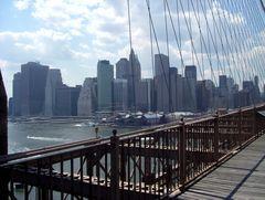 Manhattan - Blick von der Brooklyn Bridge