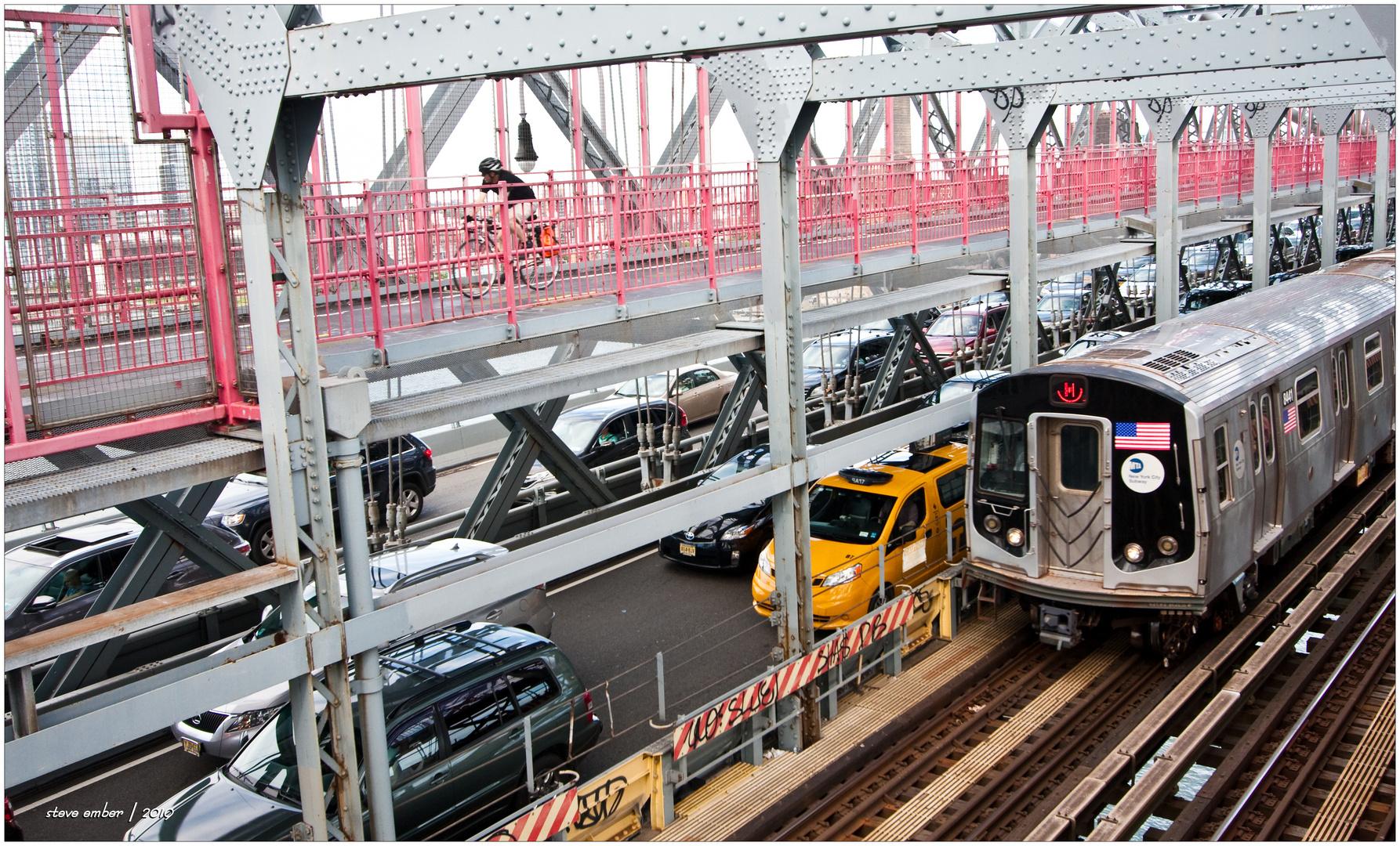Manhattan-bound on the Willy-B