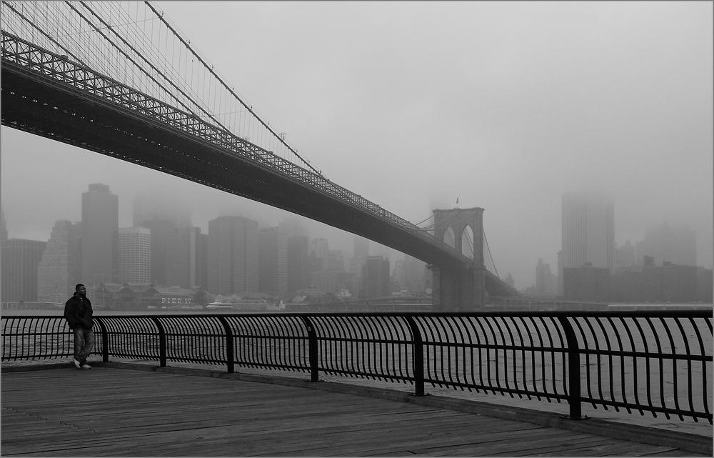 """"""" Manhattan im Nebel """""""