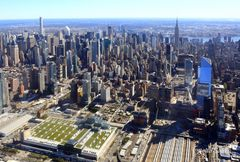 Manhattan Midtown von oben