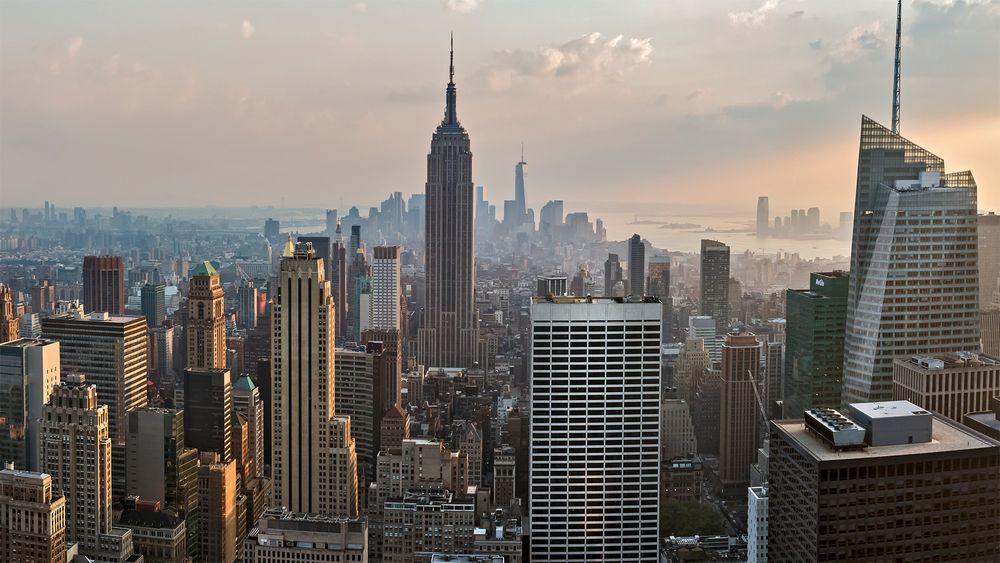MANHATTAN - TOP OF THE ROCK