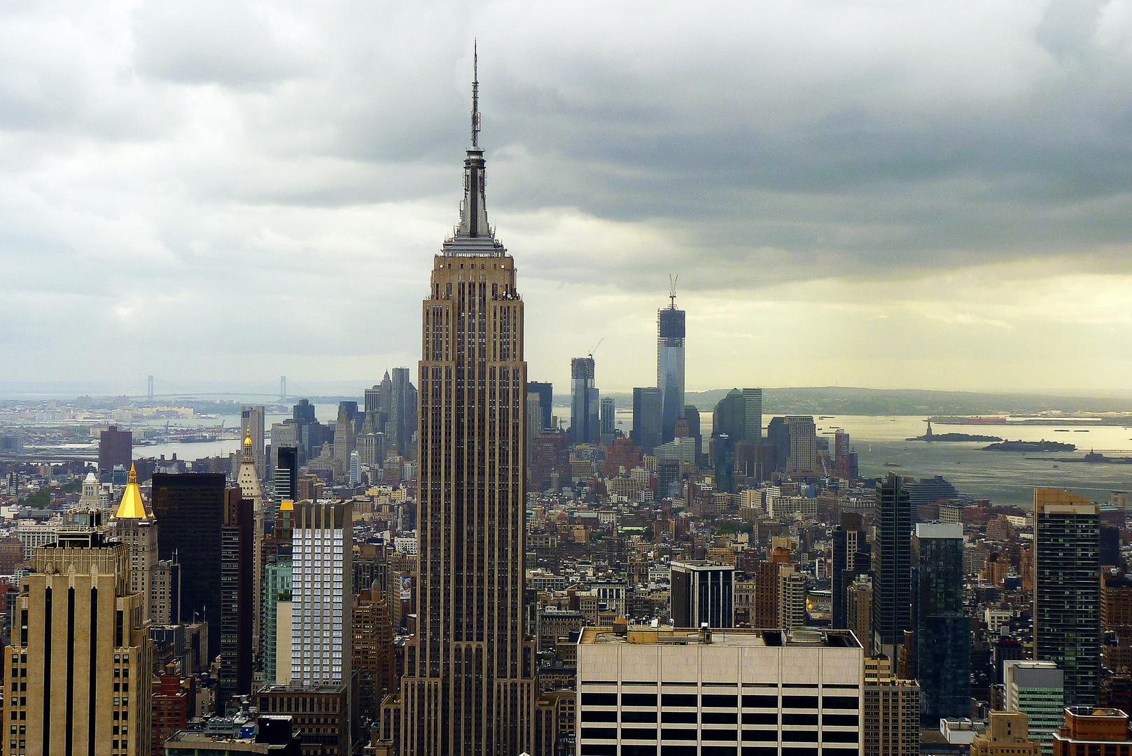 Manhattan von oben (1)