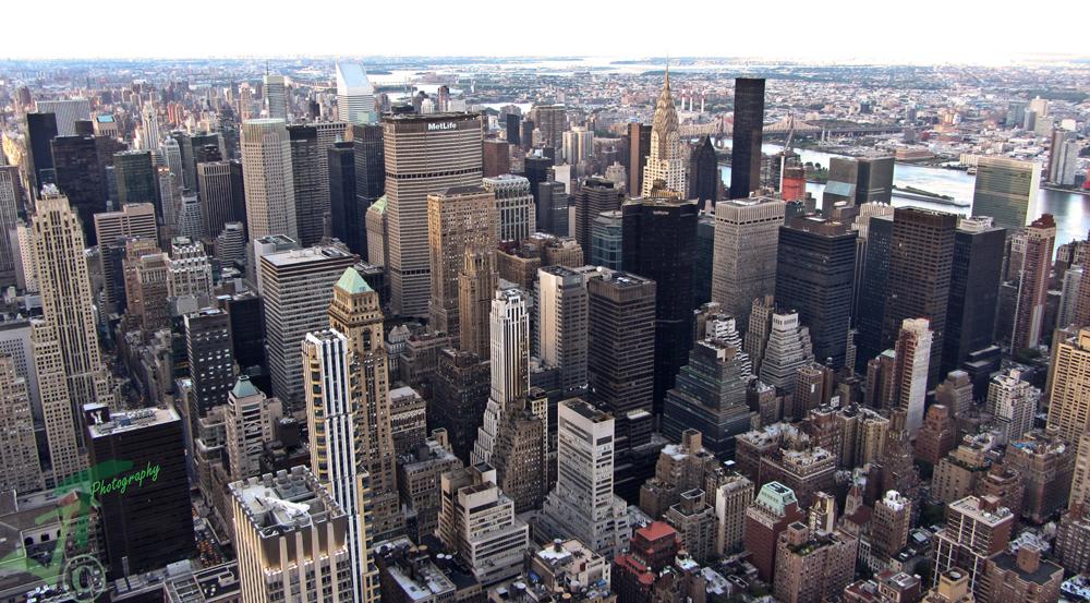 Manhattan von oben #2