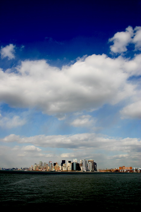 Manhattan - Wolke, kein Smog