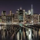 Manhattenblick von der Brooklynseite