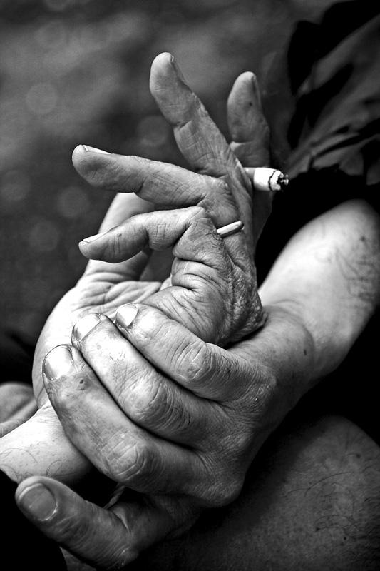 mani senza pensieri