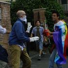 Manifestazione anti Bush - Roma