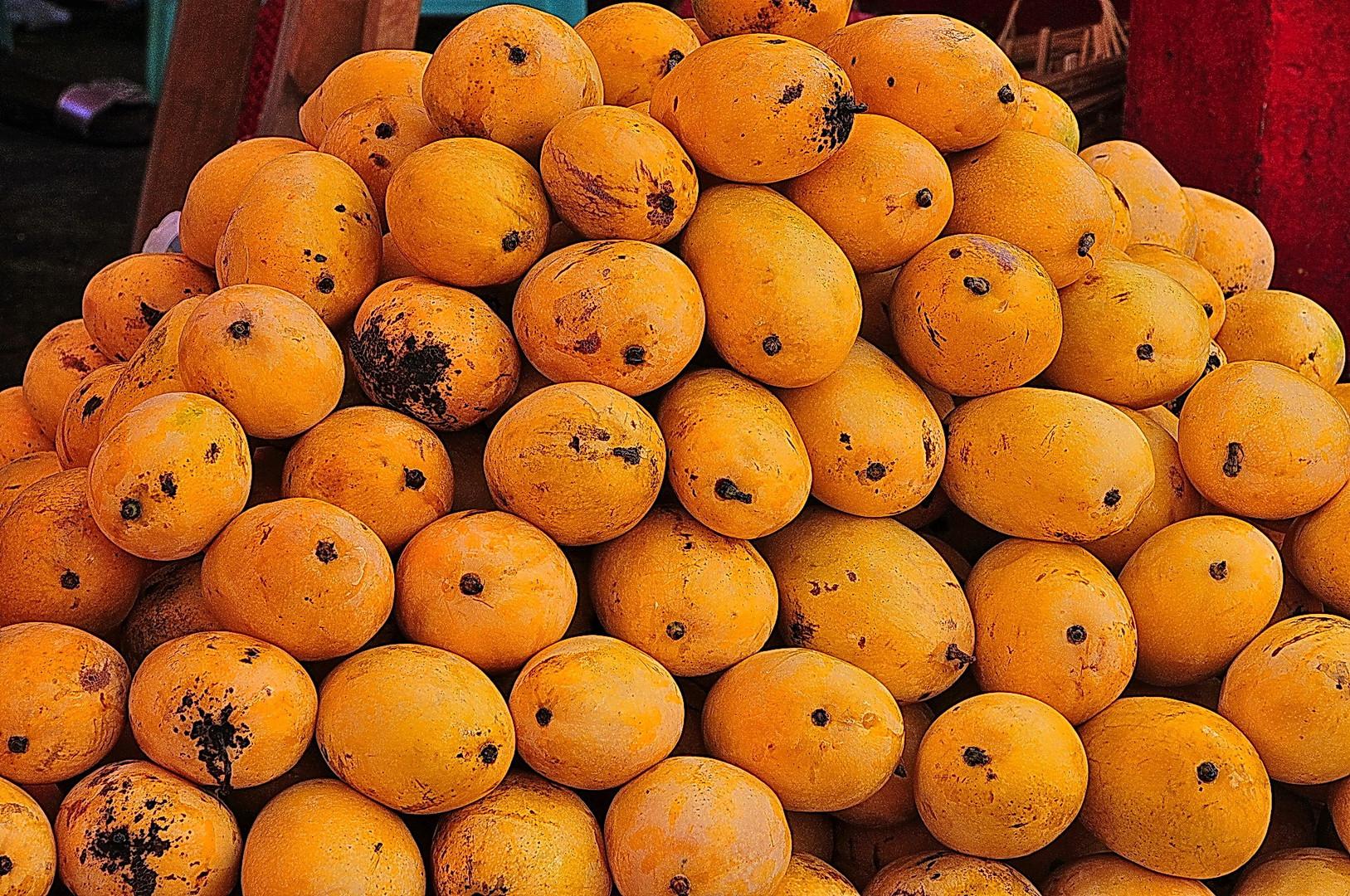 """"""" Manila Mangos """" ; Manila Markt 2009"""