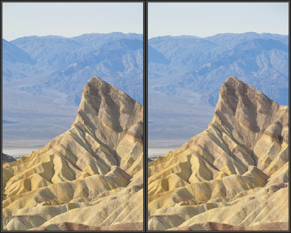 Manly Beacon im Death-Valley 3D