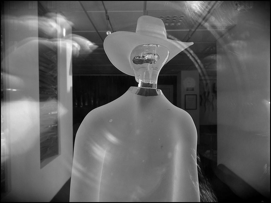 Mann aus Glas