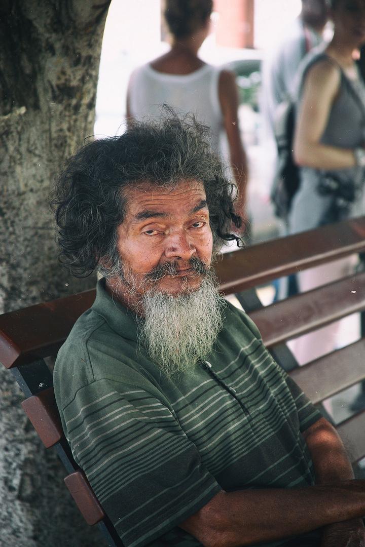 Mann aus Nicaragua