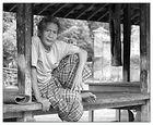 Mann aus Tenganan, Bali