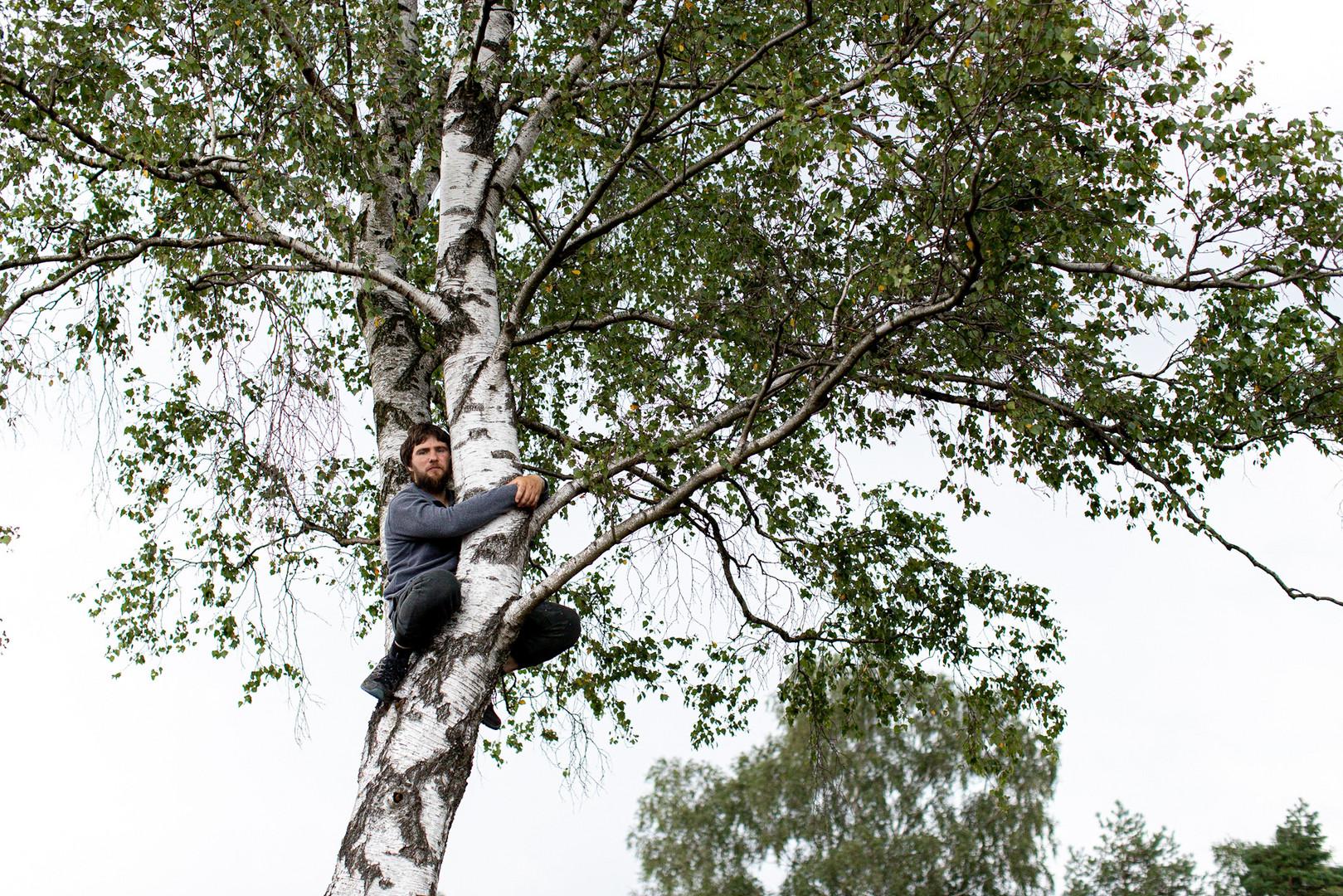 Baum Mann