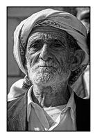Mann im Jemen 1 sw